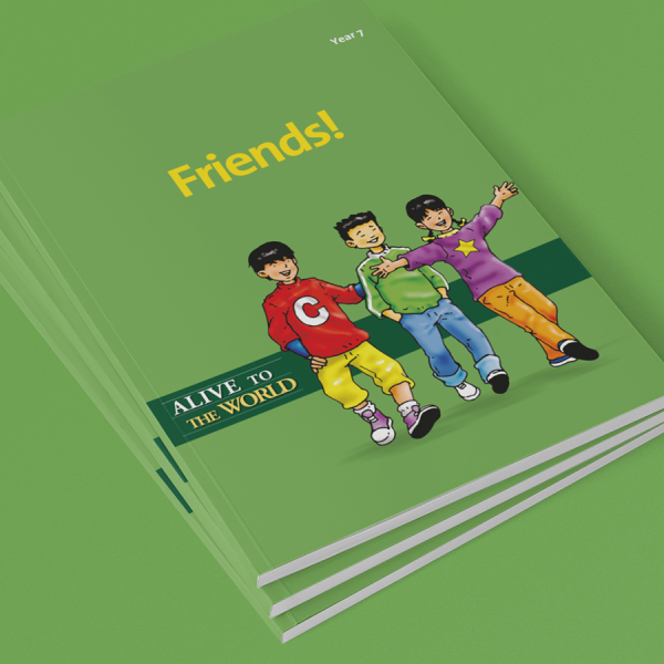 Alive to the World's Book 7 Friends!